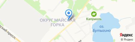 Специализированная пожарная часть на карте Архангельска