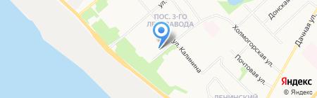 СТИКС на карте Архангельска