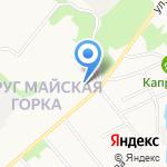Храм в честь иконы Божией Матери Неопалимая Купина на карте Архангельска