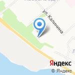 Средняя школа №95 на карте Архангельска