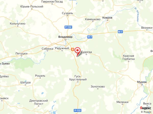 деревня Авдотьино на карте