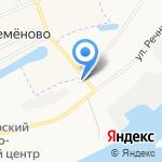 Копеечка на карте Архангельска