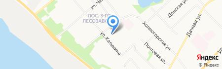 Детский сад №116 Загадка на карте Архангельска