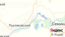 Отели города Раздорская на карте
