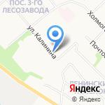Детская художественная школа №1 на карте Архангельска