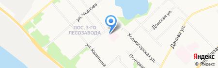 Архангельский центр лечебной физкультуры и спортивной медицины на карте Архангельска
