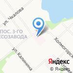 Семейный центр здоровья на карте Архангельска