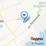 Знакомый Мастер на карте Архангельска