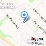 Лель на карте Архангельска