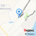 М-Квантум на карте Архангельска