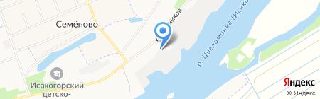 Беломорская сплавная компания на карте Архангельска