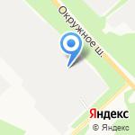 Милениум на карте Архангельска