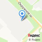Импульс М на карте Архангельска