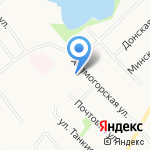 Сауна на Почтовой на карте Архангельска
