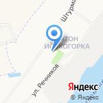 Средняя общеобразовательная школа №82 на карте Архангельска
