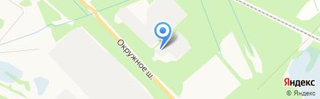 Альтера на карте Архангельска
