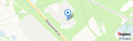 НордКранСервис на карте Архангельска