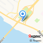 Магазин автозапчастей на карте Архангельска