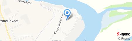 Детский сад №132 Алые паруса на карте Архангельска