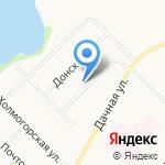 Церковь евангельских христиан-баптистов на карте Архангельска