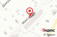 Схема проезда до компании Молодежный в Архангельске