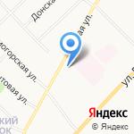 Поморский Дом на карте Архангельска