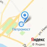 Образ на карте Архангельска
