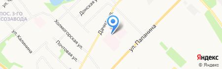 Городская клиническая больница №4 на карте Архангельска