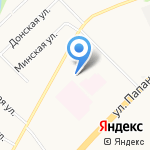 У Марины на карте Архангельска