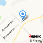 Крылья на карте Архангельска