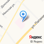 Городская поликлиника на карте Архангельска
