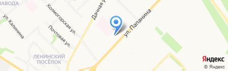 Стоматологическая поликлиника №2 на карте Архангельска