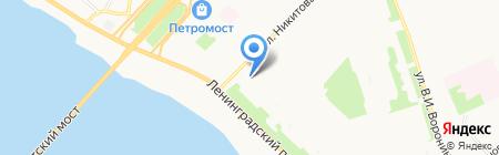 Оригинал на карте Архангельска