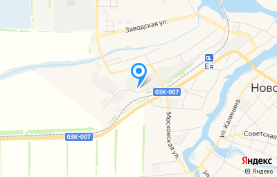 Местоположение на карте пункта техосмотра по адресу Краснодарский край, ст-ца Новопокровская, ул Линейная, д 96