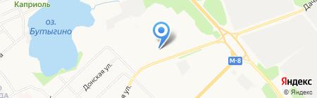 Родник на карте Архангельска