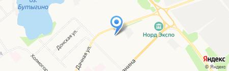 ВМТ Центр на карте Архангельска