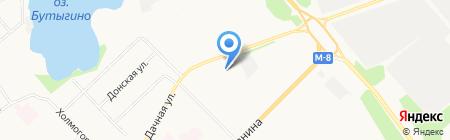 Форест-центр на карте Архангельска