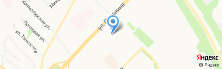 Детский сад №16 Дубок на карте Архангельска