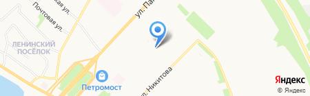 RoadDip на карте Архангельска