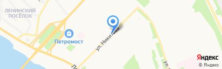 ФИБО на карте Архангельска
