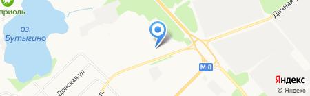 Архангельское протезно-ортопедическое предприятие на карте Архангельска