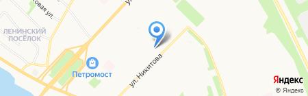 Архангельская ФГУ на карте Архангельска