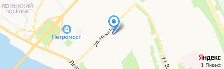 Магазин разливного пива на карте Архангельска