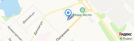 Тойота Центр Архангельск на карте Архангельска