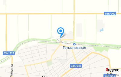Местоположение на карте пункта техосмотра по адресу Краснодарский край, ст-ца Кавказская, тер Промзона, д 11