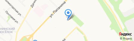 Батарейка на карте Архангельска