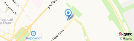Рослесинфорг на карте Архангельска