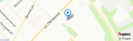 Лесотехнический колледж Императора Петра I на карте Архангельска