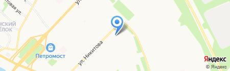 Киоск по продаже молочной продукции на карте Архангельска
