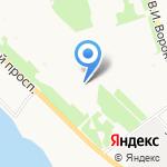 Детский дом №1 на карте Архангельска